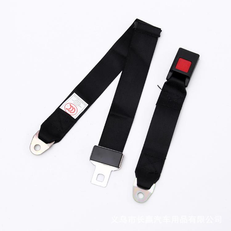 3C Authentication Universal 2 bolt points Car Seat Belt Lap Belt Two Point Adjustable Safety Best Quality what you see is what you get