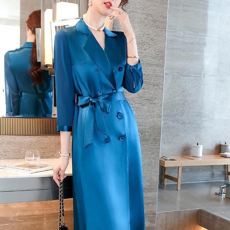Женская одежда Платья одежды Случайные платья одежды Повседневная женская одежда платья весна мода стиль w