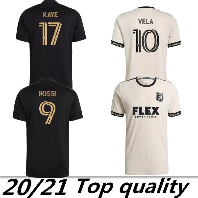 Acquista MLS 2021 2022 LaFC Soccer Jersey 21 22 Rossi Vela Kaye Moon Hwan Los Angeles FC GIOCATORI CHANGE BLACK OUT EDIZIONE LIMITED FANS Versione ...