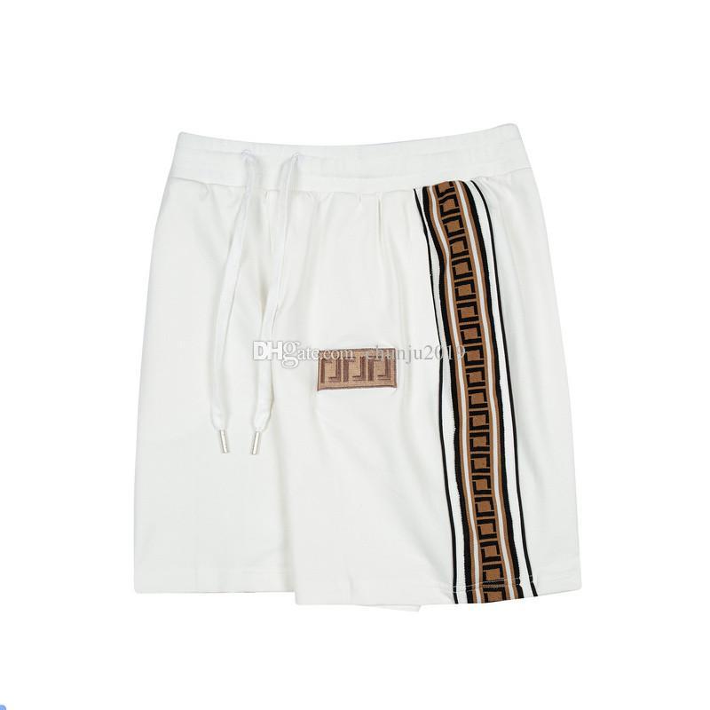 Tasarımcılar Erkek Şort Moda Yaz Erkekler Mektup Nakış Kısa Pantolon Varış Rahat ShortLeeve Erkek Streetwear Pantalones Cortos Için