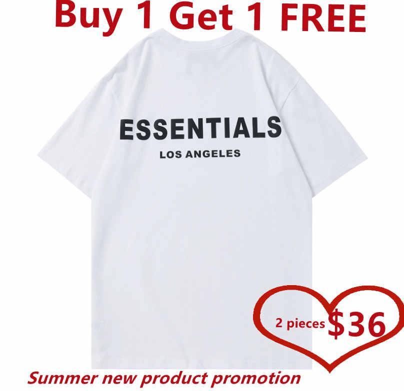 2021 Designer homens t-shirt de verão respirável sólido manga curta hip hop moda homens e mulheres comprar um get 1 livre,