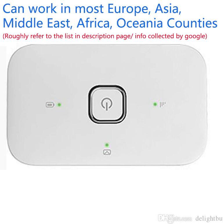 Разблокированный Vodafone R216 R207 R216-Z Huawei E5330 21M HSPA 3G Wi-Fi маршрутизатор WiFi с SIM-картой Slot Huawei R207 Wi-Fi