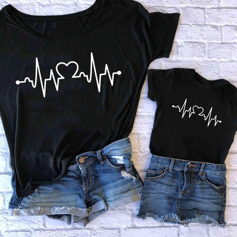 Mami Me coincide con la impresión del amor del verano de la camiseta de la madre y la muchacha de la madre de la madre