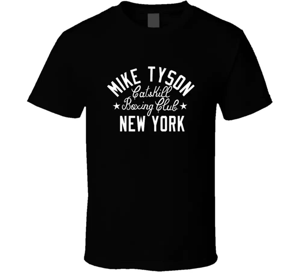 Boxenclub Sport Tee Männer Mike Tyson Catskill New York Ny Mens T-Shirt Geschenk NEU