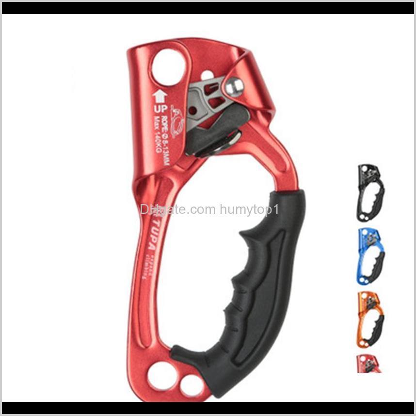 Professional Mountaineer Hand à direita Ascender Caverna Corda Riser Riser para Zza987 Yx3JX Gadgets ao ar livre Rijqt