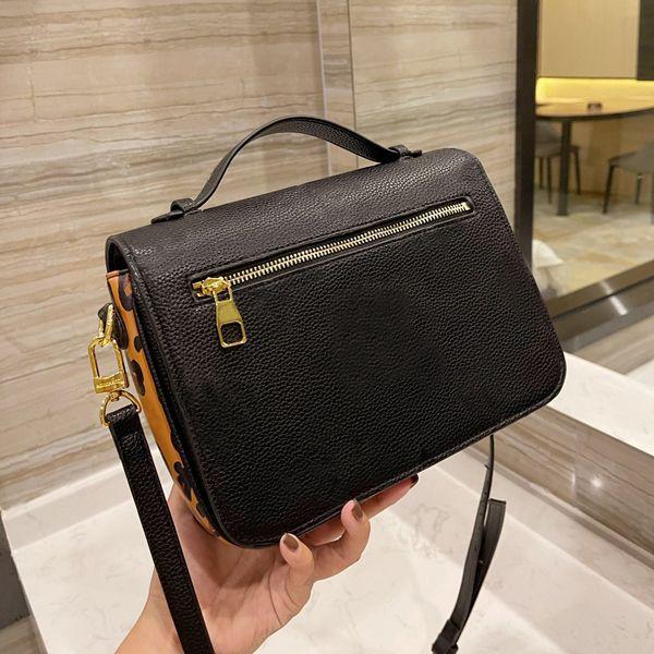 2021 Classic Marca Designer Sacos de Ombro Top Quality Mulheres Luxo Moda Moda Metis Messenger Bag Tamanho 25cm com caixa
