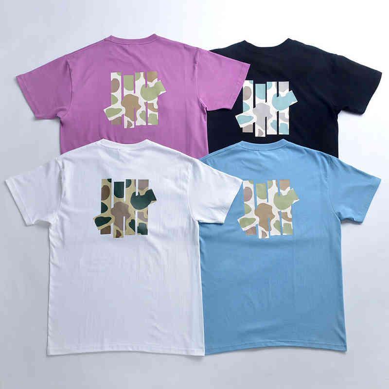 Camiseta de manga corta de manga corta para hombre y algodón de las mujeres Cinco bar Tiger Tiger Graffiti camiseta