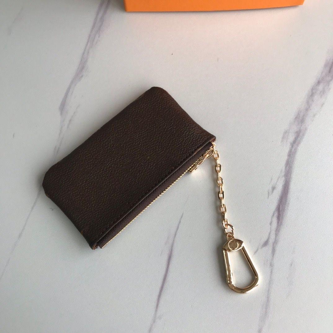 Anahtar Kılıfı pochette CLES Tasarımcı Moda Kadın Anahtarlık Kredi Kartı Tutucu Madeni Para Çanta Mini Cüzdan Çanta Charm N62658 N62659 M62650