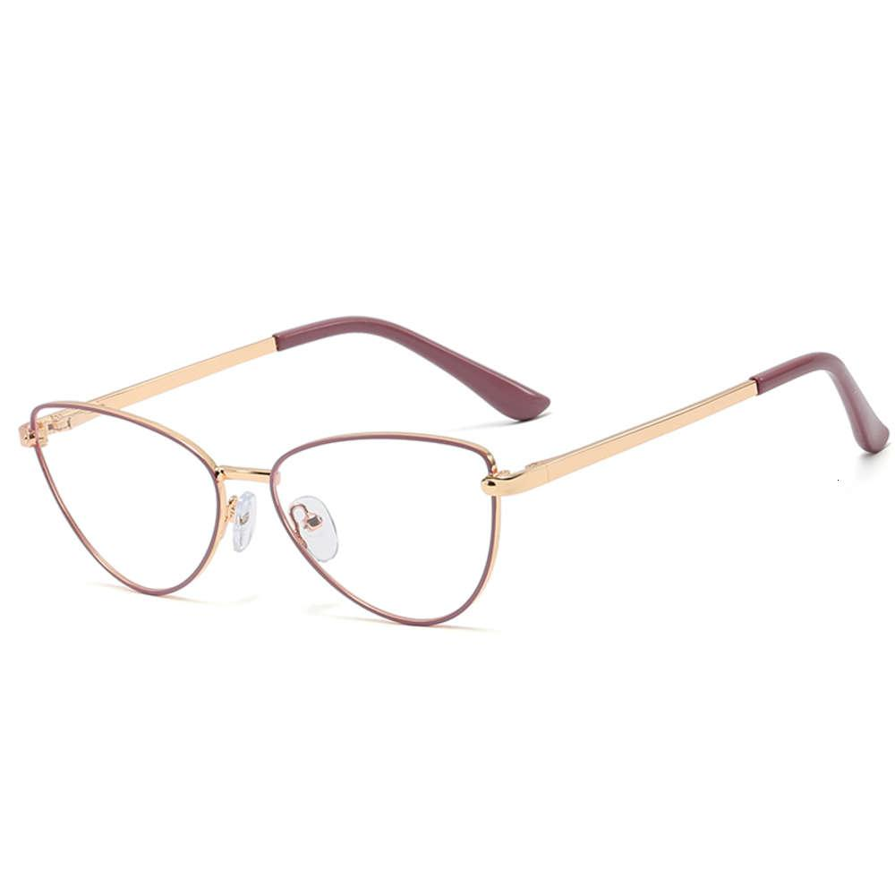 Shinelot 95596 Nova Chegada Estilo Simples Sentimento de Metal Mulheres Vidro com Filtro de Luz Azul Alta Qualidade Óculos Wholale