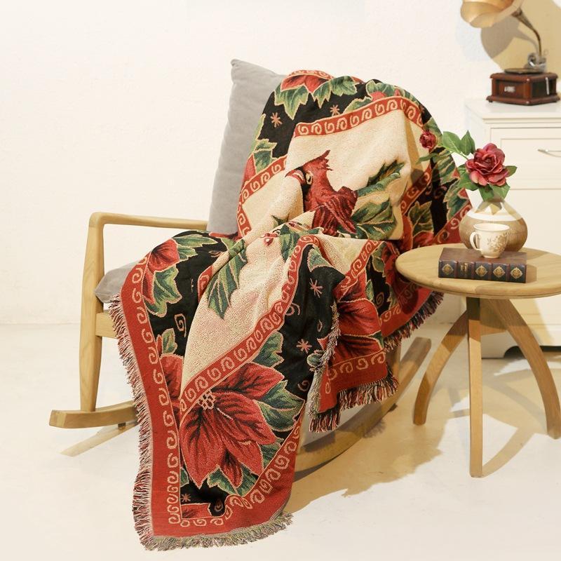 Tapestries chics Chic imprimé mode de ménage Soplace macramé décor de grande surface Couverture de pique-nique Couverture de transport maritime Chantation châle