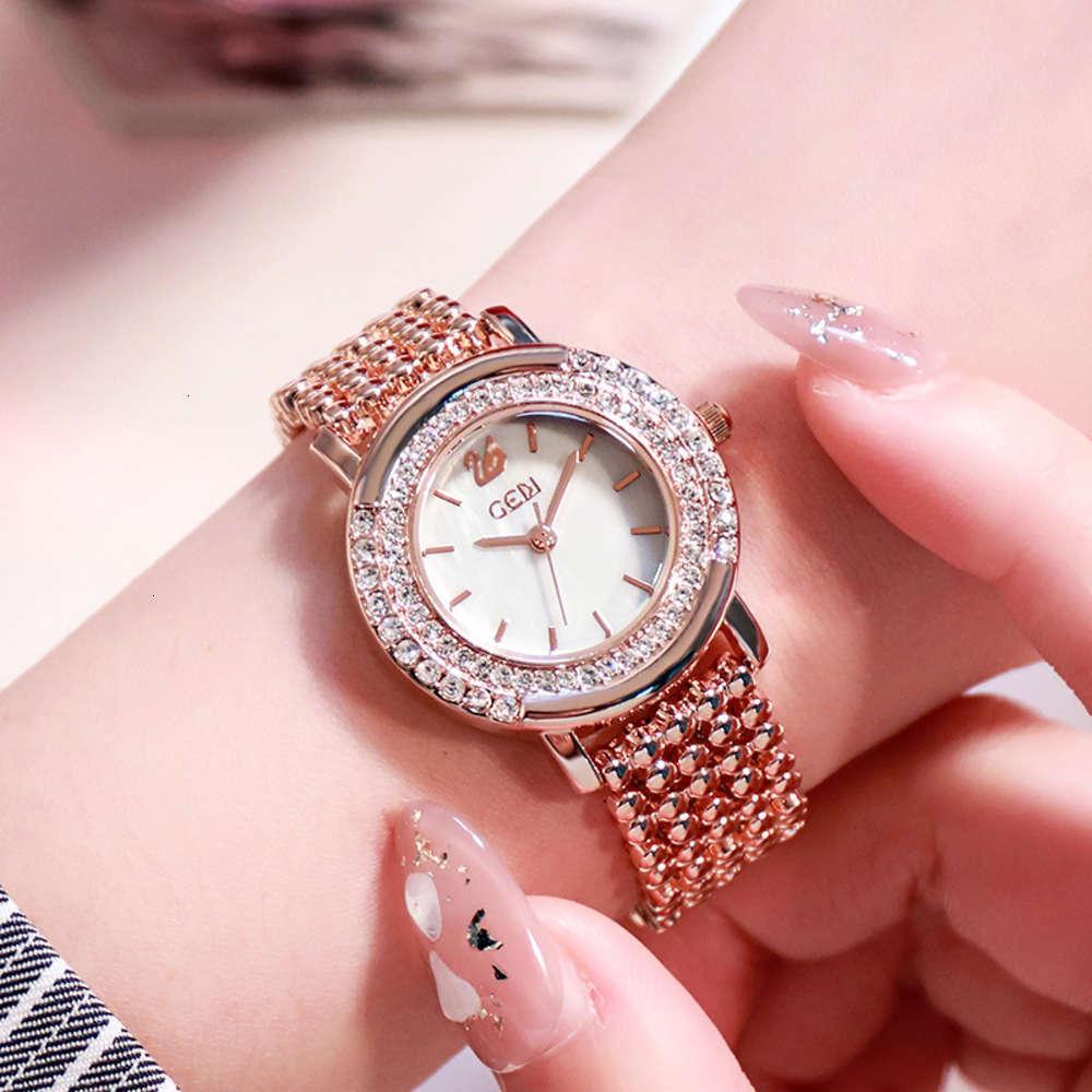 Relógios de pulso Gedi vendendo temperamento pulseira Padrão de cisne atmosfera de diamante relógio feminino
