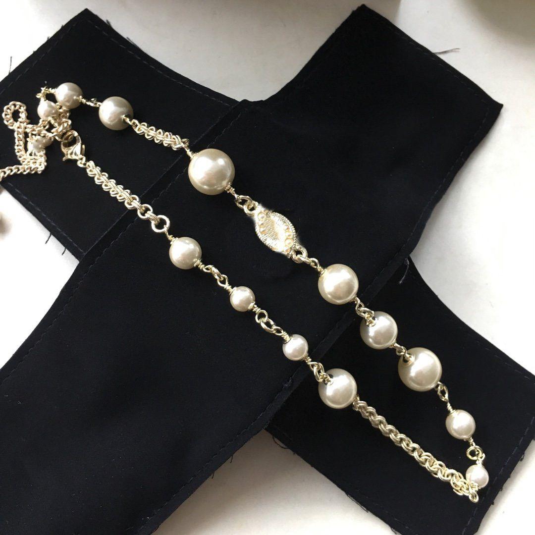 Collana pendente perla Vari stili collana di moda per la donna regalo di alta qualità zircone catena collana gioielli di moda