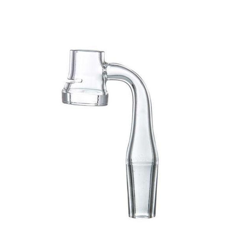 Граальс кварц Banger Nail 90 градусов с щелью 5 мм толщиной дна для стеклянной чаши 10 мм 14 мм 19 мм мужские женские суставы