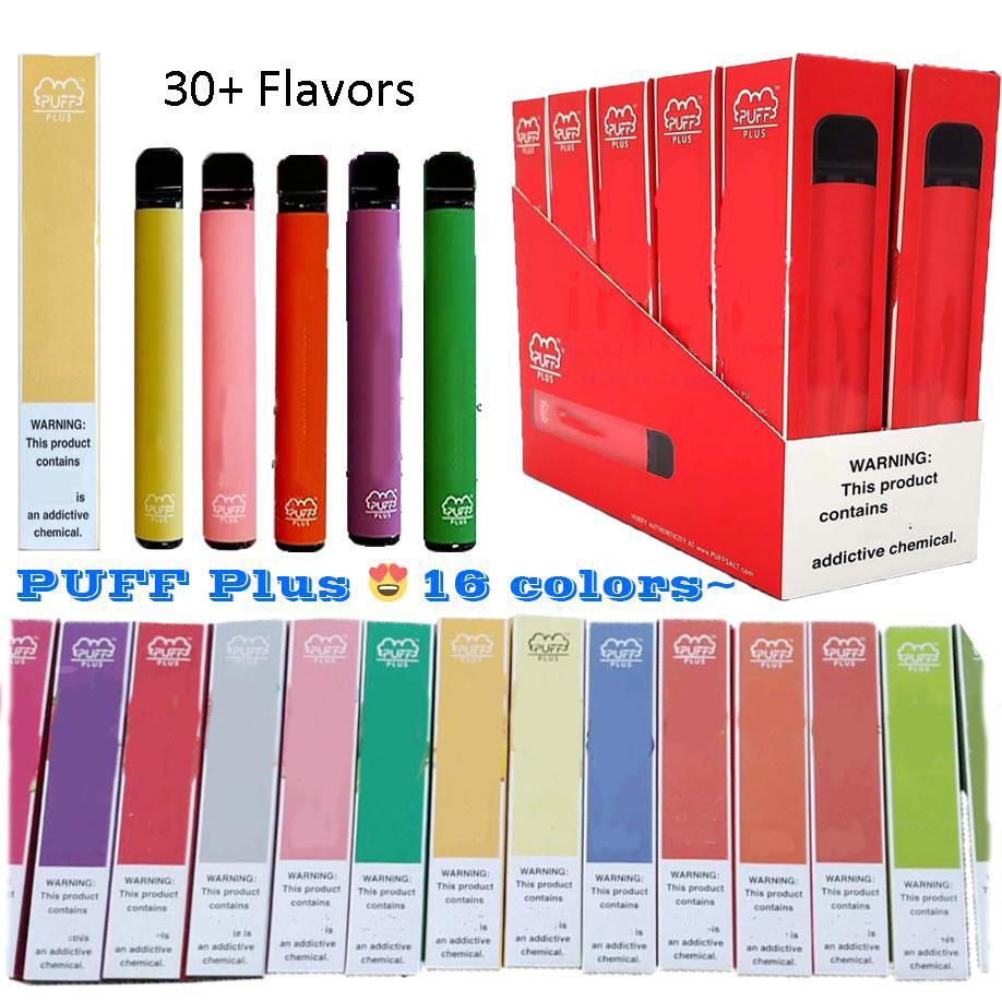 Bar Puff Plus 800 Puffs Visable Vape Pens Pods Dispositif Kit pré-rempli E Cigarettes vs Puff bar XXL 1600