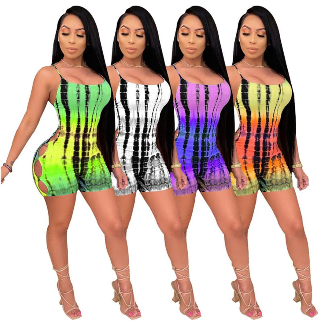 wholesale summer sexy womens jumpsuits rompers one piece shorts elegant fashion bodyconskinny jumpsuit pullover comfortable clubwear D414