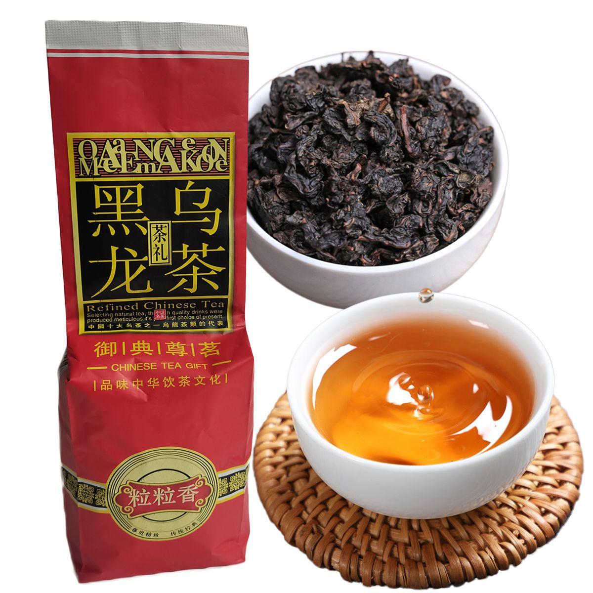 Tercih Edilen 250g Çin Organik Oolong Çay Siyah Tieguanyin Oolong Yeşil Çay Sağlık Yeni Bahar Çay Yeşil Gıda Vakumlu Ambalaj