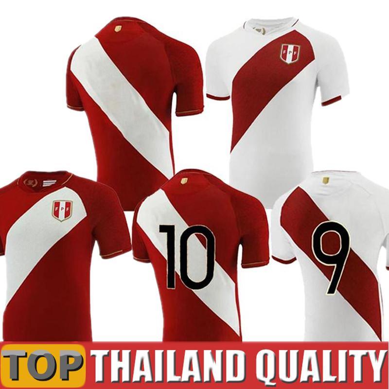 2021 2022 Peru Milli Takım Futbol formaları evden uzak üniformalar CUEVA CARRILLO ABRAM TAPIA YOTUN LAPADULA Camiseta de Hayran Sürümü adam