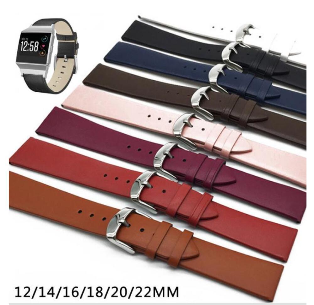 Pelle 16mm 20mm 18mm orologi a sguardo a sguardo a sguardo rapido cinturino cinturino marrone per uomini donne