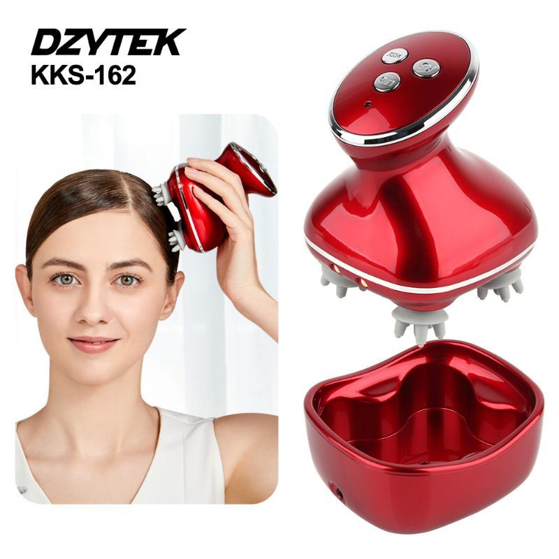 Head Massager Waterproof Electric Wireless 4D Scalp Massage Claw Release Prevent Hair Loss Promote Growth Massagers