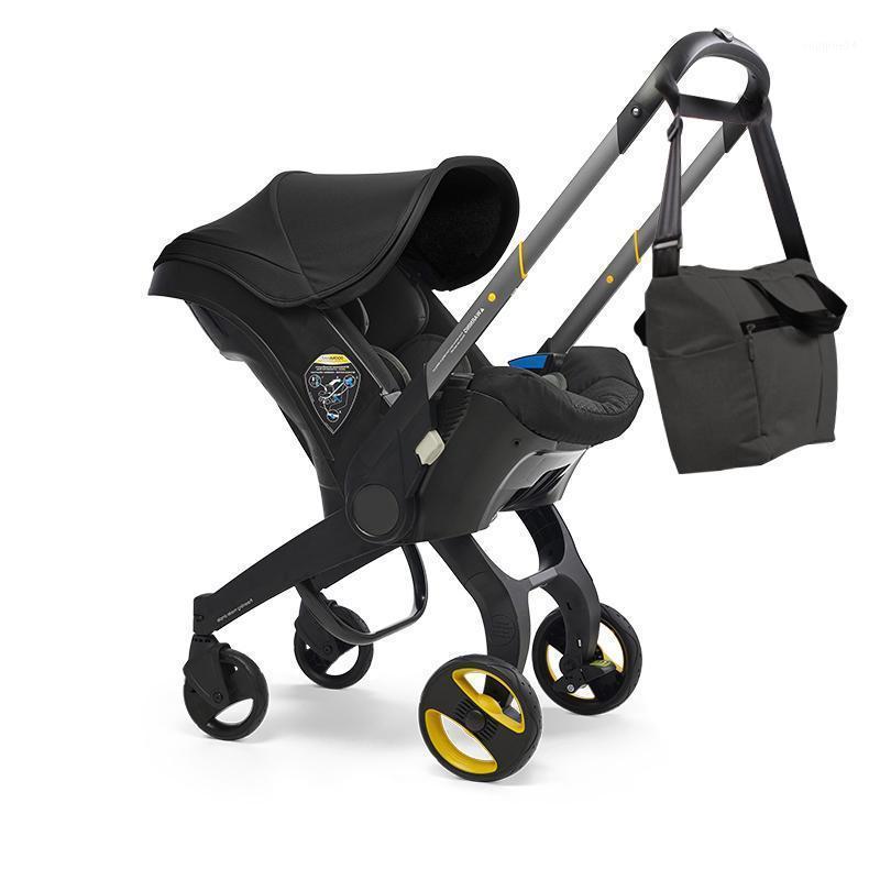 Bebek Arabası 4 in1 Araba Koltuğu Bassinet Yüksek Lisans Borns Bebek Arabası Için Oyun Arabası Pramps # 1