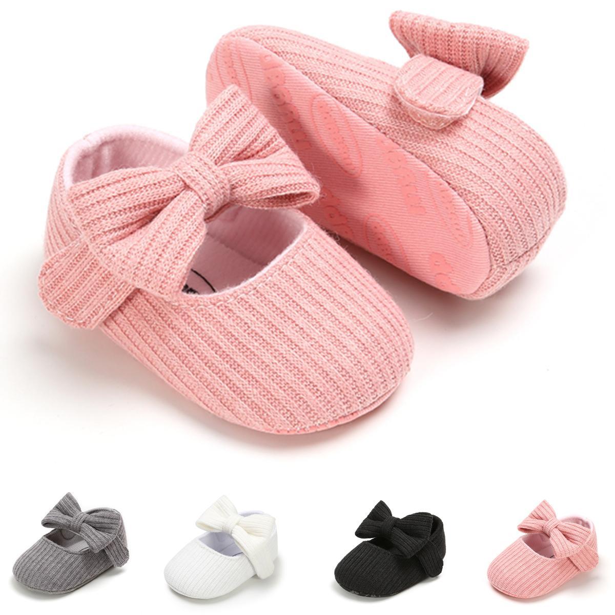 Songofjoy الرضع طفلة أحذية، الزهور ماري جين الشقق الأميرة اللباس الأحذية الناعمة الوليد سرير الأحذية الأولى المشاة prewalker