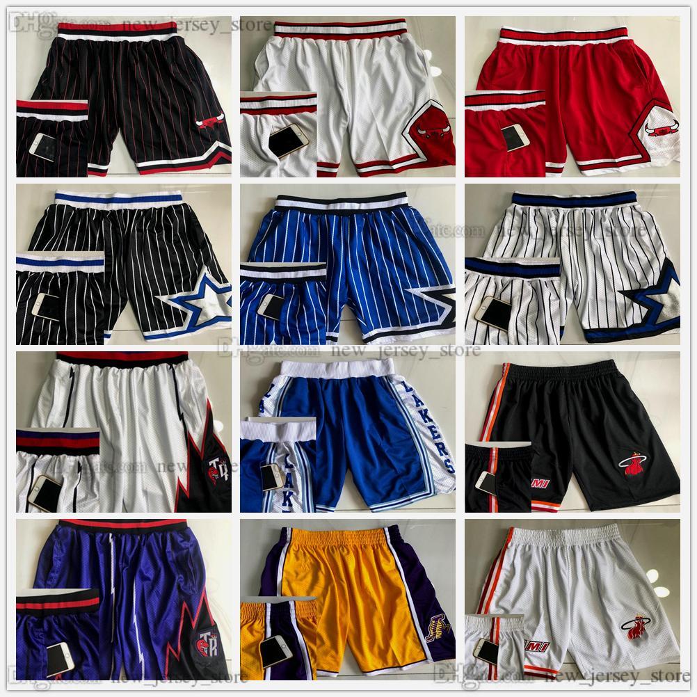 Митчелл и Ness подлинные сшитые баскетбольные буксирные карманные шорты высочайшего качества ретро с карманами Baskeball Collection Man S M L XL XXL