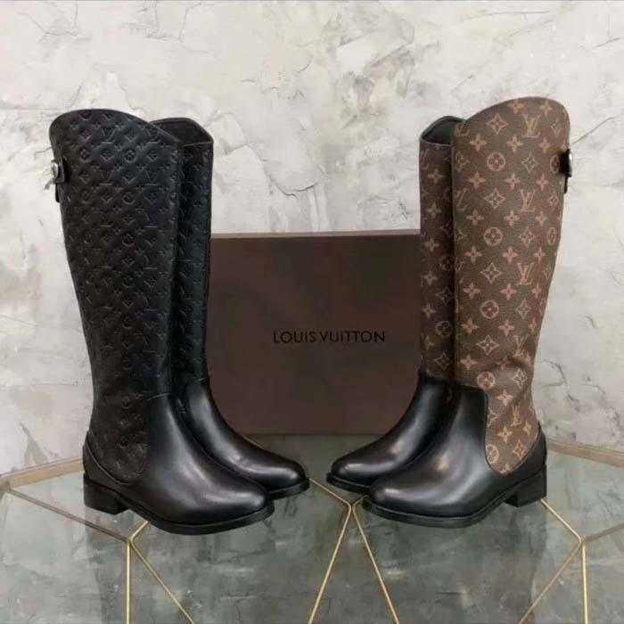 2021 Designer de moda clássico sobre botas de joelho botas cabeça mulheres mulheres longas botas feminina martin casual selvagem não deslizante mulheres mulheres botas