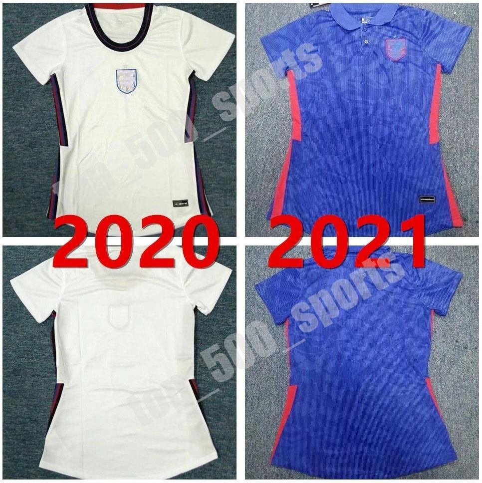 20 21 국가 대표팀 여성 축구 유니폼 Kane Sterling Lingard Uniform Lady 2021 Vardy Rashford Dele Football Shirts