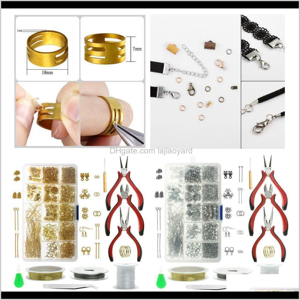 Bead Set Repair Kit Findings Supplies Pliers Beading Wire Tools Jewelry Making Casual Styles Wmtqhg Y6Uv1 Izb3D