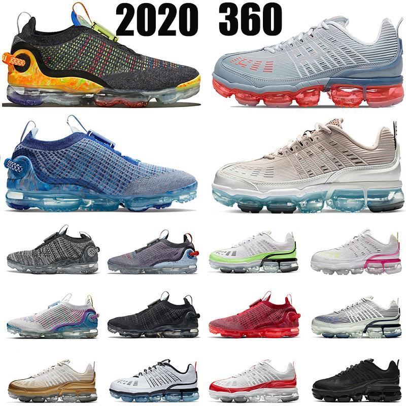 Nike Air Max Vapormax Erkek Kadın 2020360 Koşu Ayakkabıları Koşucular Lazer Turuncu Metalik Altın Üçlü Siyah Beyaz Koşucular Spor Sneakers Eğitmenler