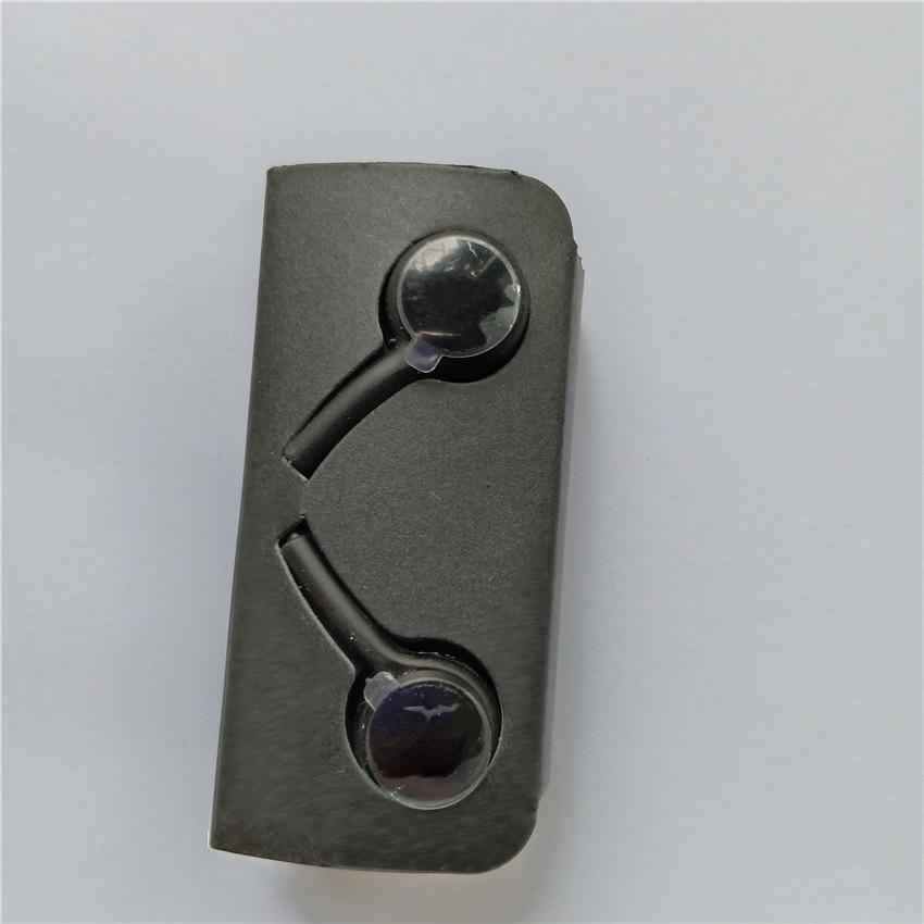 3.5mm 고품질 갤럭시 S10 플러스 귀 유선 헤드셋 스테레오 사운드 이어 버드 볼륨 조절기 S6 S7 Note8 이어폰 OM-P5