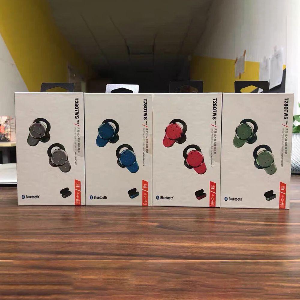 100% originelle t280 Tws Draadloze Bluetooth ordürefoon t280tws sport oordopjes tiefe bass hoofdtelefoon wasserdichte headset