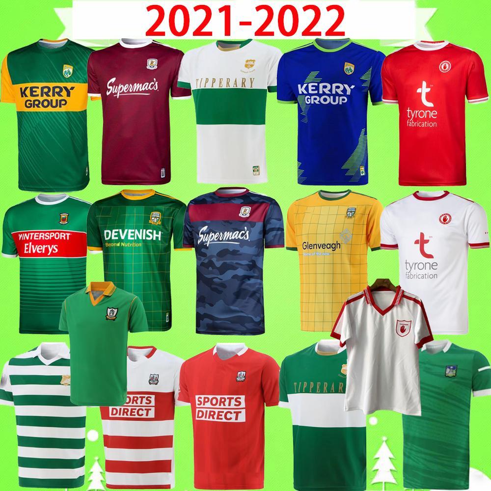 2021 Dublin Gaa Rugby Jersey Home Training 21 22 بلاية قميص David Treceacy Tom Connolly Retro Size S-5XL تي شيرت 2022 Tipari Kerry Limerick ميث ميو تيرون تلميح لاري