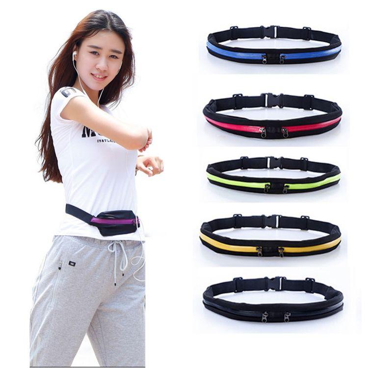Portable Waterproof Cycling Bag Outdoor Phone anti-theft Pack Belt Jogging Running Waist bags