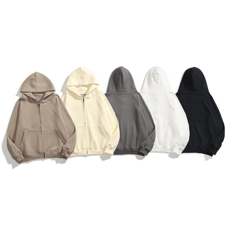 Luxuoso Personalidade Zipper Cardigan Homens e Mulheres Hoodies Marca Luxo Designer Hoodie Sportswear Moletom Fashion Tracksuit Jaqueta de lazer