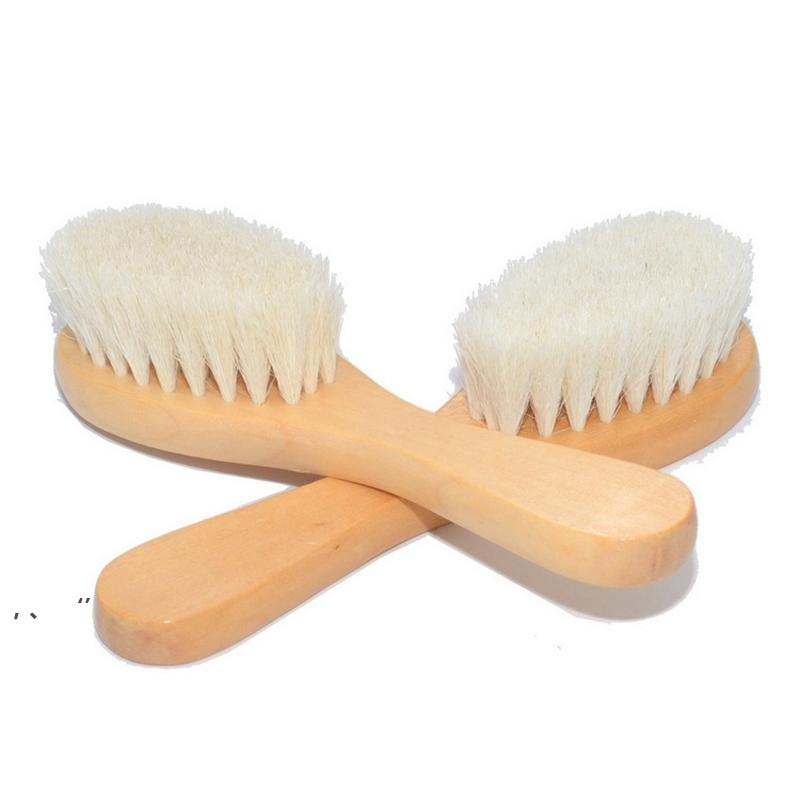 طفل حمام خشبي فرش دش الجسم تنظيف تدليك فرشاة الشعر مشط المنزلية الحمام النظيفة اللوازم HHB7970