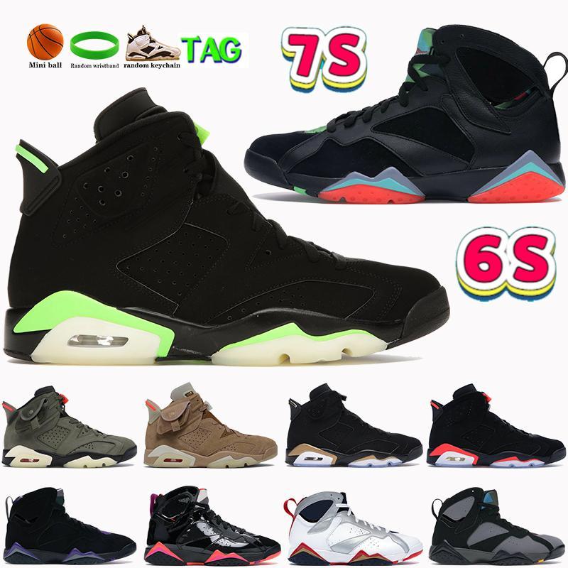 2021 الرجال 6 6 ثانية 7 7 ثانية أحذية كرة السلة الكهربائية الأخضر الأصفر الصبار البريطانية الكاكي dmp الأسود الأشعة تحت الحمراء هير برشلونة ليال الليالي الأولمبي