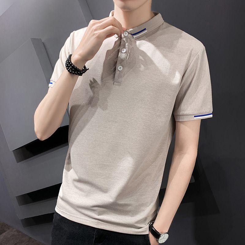 Factoryji6f Men 2021 летняя новая рубашка поло