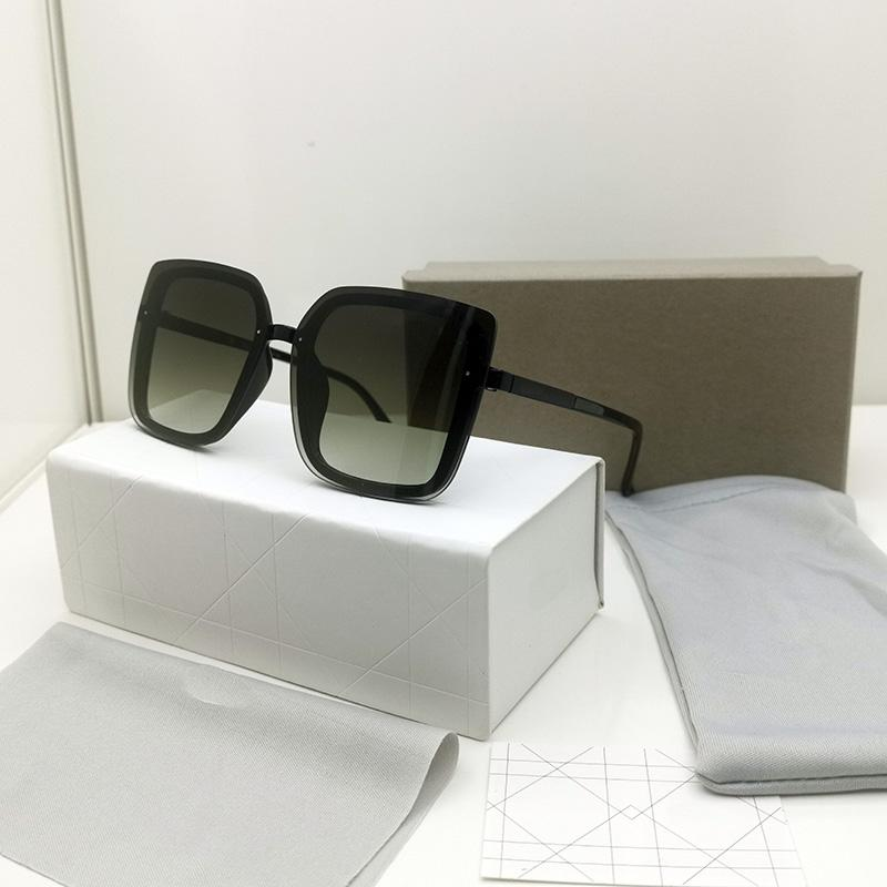 Солнцезащитные очки Женские Очки Square UV400 Мода Высокое Качество Солнцезащитные Очки Человек Eyeglass Женщина Occhiali Luxurys Lunettes de Soleil Дизайнеры Eyegla 3718