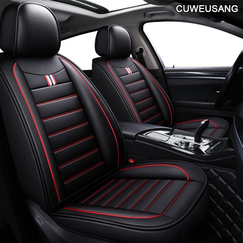 Leather Car Seat Cover For Lada Granta Vesta Priora Kalian Largus Xray Niva Protector Accessories Automobiles Seats Covers