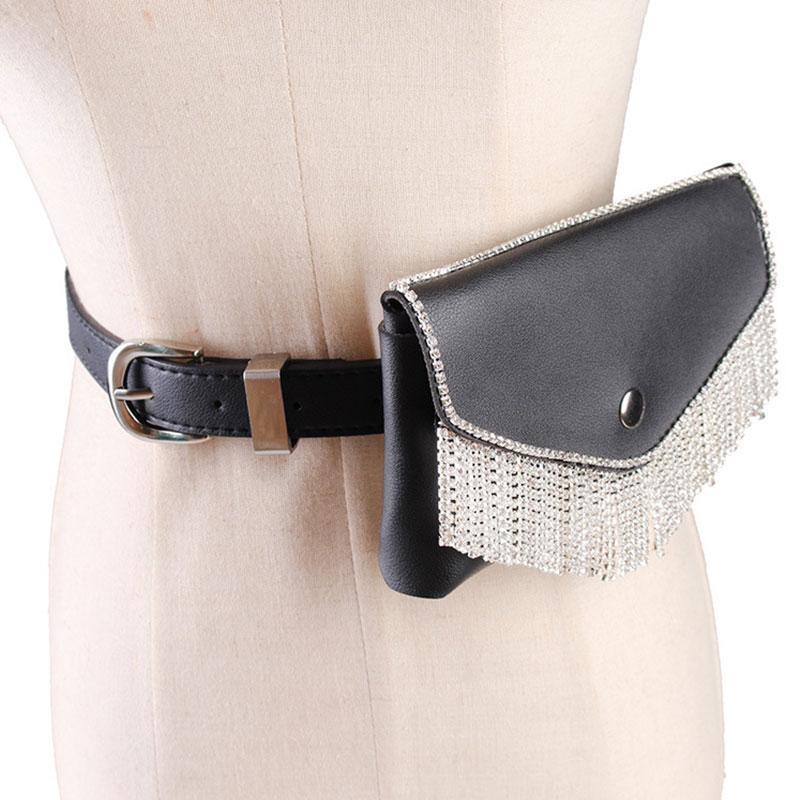 الأزياء شرابة الخصر حزمة الفاخرة مصمم فاني حزمة المرأة الصغيرة الخصر حقيبة الهاتف الحقيبة سيدة فاسق حزام حقيبة المحافظ