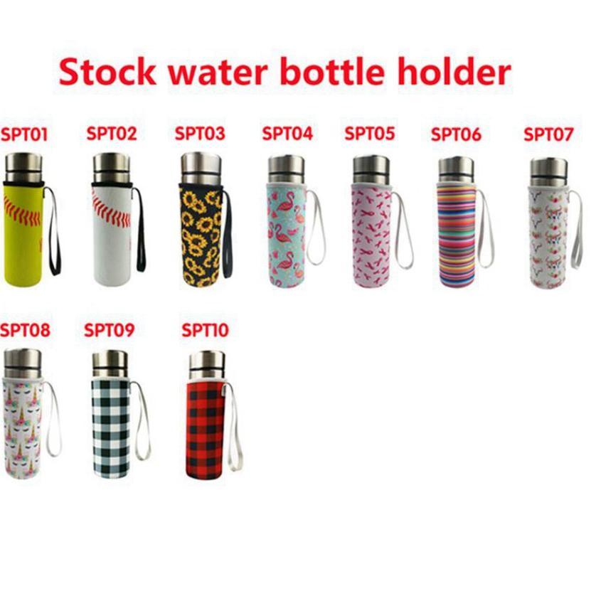 10 Цветов Неопреновая апинавтика для питьевой программы Уничтожитель для бутылки для воды Изолированная рукава Сумка Чехол Чехол Чехол для чехла для 500 мл Cyz3077