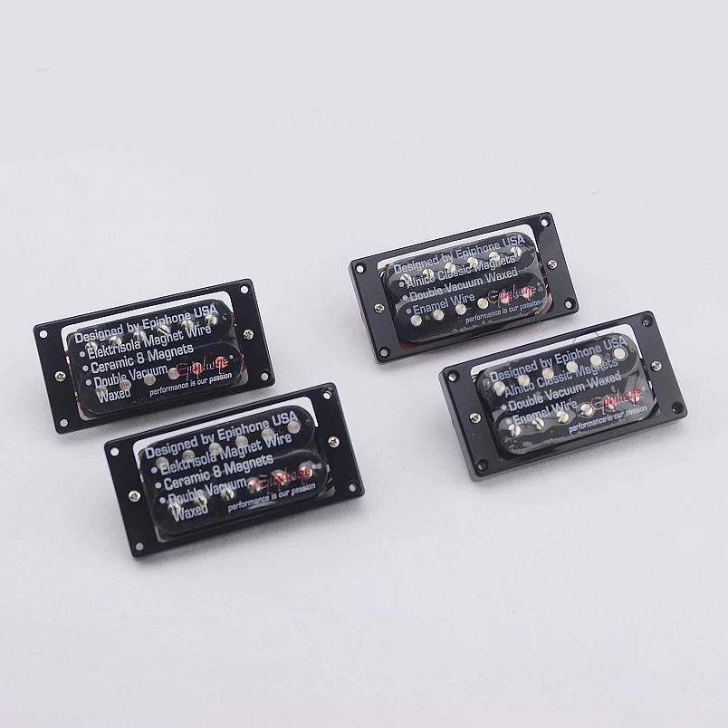 1 Set Origina Pickupsl Electric Guitar Humbucker Pickup ( Ceramic / Alnico Magnet Bar )