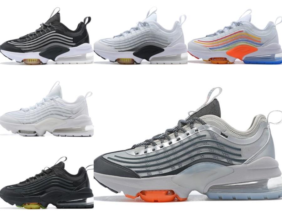 En Kaliteli Yastık ZM950 Erkek Koşu Ayakkabıları 950 Oreo Neon Üçlü Siyah Gümüş Beyaz Gökkuşağı 950 S Kadın Erkek Spor Eğitmenleri Sneakers Schuhe