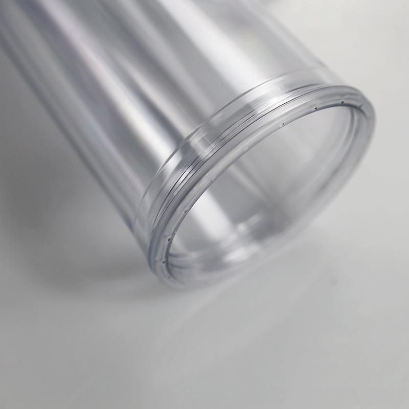 واضح قش بهلوان في الهواء الطلق مع زجاجة الشرب مزدوجة الاكريليك غطاء قبة جدار البلاستيك تسرب المياه مقاومة المياه KKB7523
