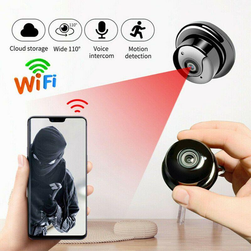 Wireless WiFi Mini IP Camera 1080P HD IR CCTV Infrared Night Vision Micro Video Home Security surveillance Baby Monitor Cam