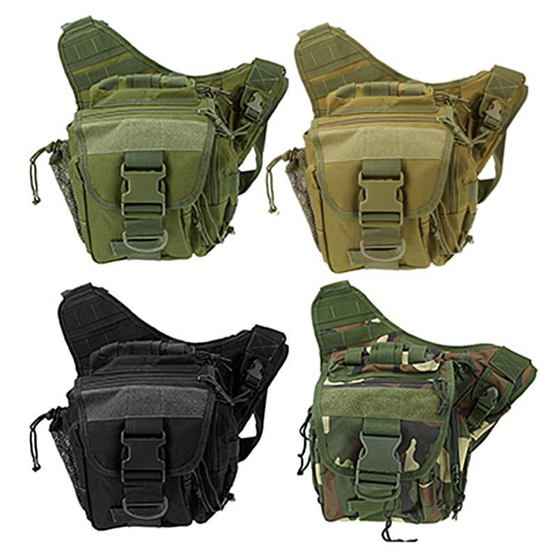 Military Tactical Shoulder Waist Bag Waterproof Outdoor Sac Militaire Hiking Army For Climbing Camping Trekking 5 Colors Bags