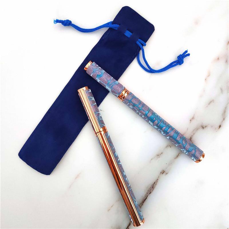 Üst Satıcı Yeni Kadife İpli Kalemler Kılıfı Çanta 5 Renkler Için Kendinden Yapışkanlı Su Geçirmez Eyeliner Kalem Boş Bez Çanta Tek Kalem Kutusu