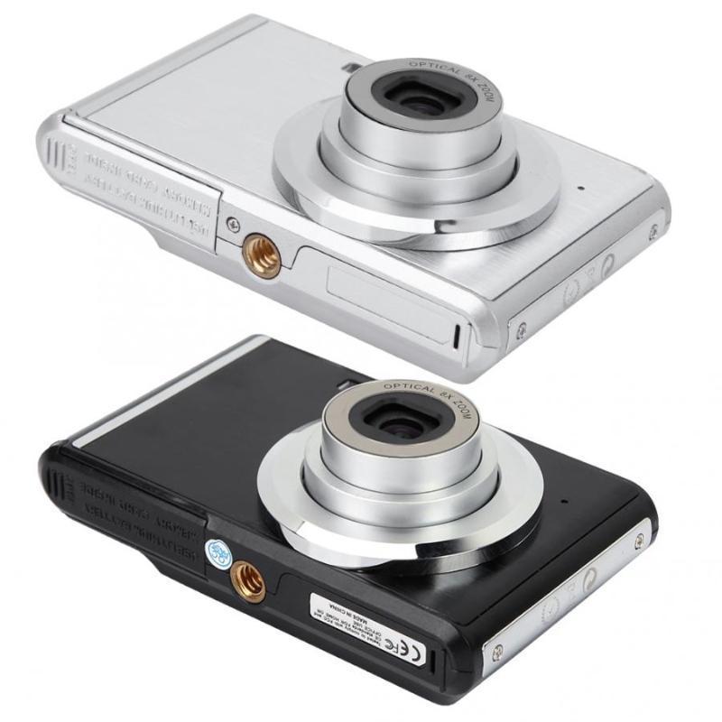 Camera Kamera 2.4 Inch Screen Mini HD Digital 8X Optical Zoom 720P Video 20MP Image Camaras Cameras