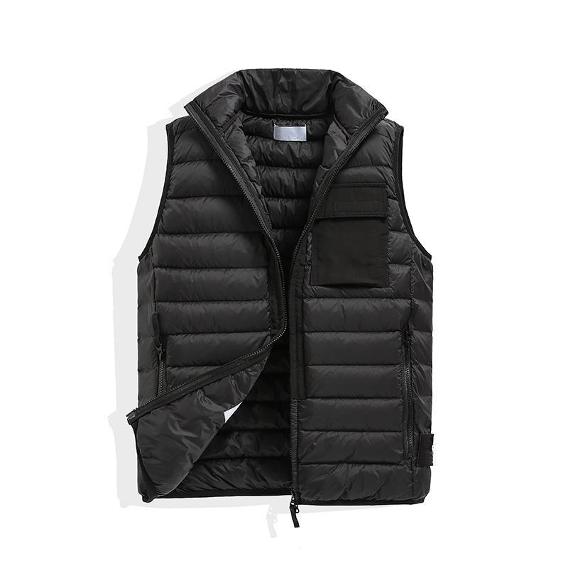 TopStone Men Mens и женщин без шляпной куртки без рукавов хлопок мягкие осени зима повседневные пальто мужской жилет жилет жилет